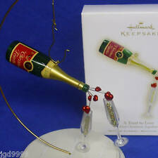 Hallmark Ornament Our First Christmas Together 2009 A Toast to Love Champagne