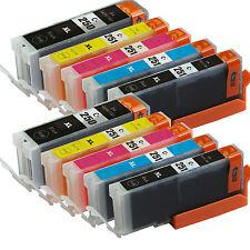 10 Pack Canon PGI-250XL CLI-251XL Compatible Ink For Canon Pixma MX722 MX922