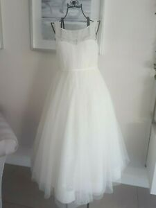 Ivory Flower Girl/Holy Communion Dress. Age 10. Ex Cond.