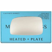 Left side Flat Wing door mirror glass for Toyota Corolla 2004-07 heated +plate