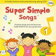 SUPER SIMPLE SONGS CD 1 CHILDREN KIDS ENGLISH 2ND EDITION MUSIC VIDEO FROM