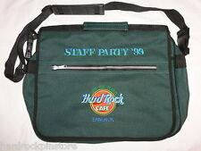 Bangkok ~ 1999 ANNIVERSARY STAFF PARTY Hard Rock Cafe Pin Backpack Messenger Bag