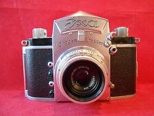 EXA 0 Objektiv Tessar 3,5/50 MC Spiegelreflexkamera Kamera mit Prisma