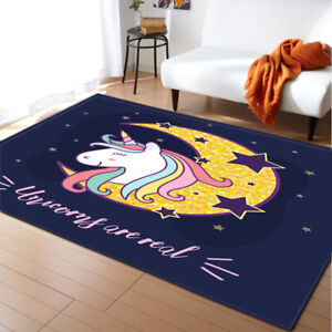 Unicorn Serie Small Large Long Floor Carpet Area Rugs Various Size Cute Soft Rug