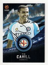 SIGNED TIM CAHILL MELBOURNE CITY SOCCEROOS STAR A-LEAGUE PLAYER 2016/17 CARD