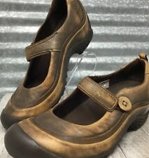 Merrell Plaza  Ortholife Emme Brown Leather Mary Jane  comfort  Woman's Size 7M