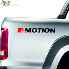 4 x VW AMAROK 4 MOTION Decal Sticker Detail-Best Quality-Many Colours