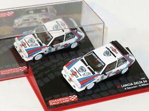 1/43 Lancia Delta S4 Martini Racing  Lombard RAC Rally 1985  H.Toivonen/N.Wilson