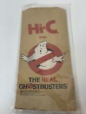 Vintage 1987 Slimer Ecto Cooler Hi-C The Real Ghostbusters promo Lunch Bag pack