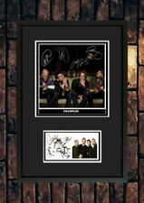 More details for (#254)  coldplay  signed a4 mounted photo or framed (reprint) ++++++++++++++++++