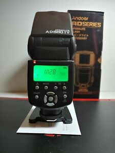 Andoer 560IV IV 2.4G Wireless Flash Speedlite for: Canon Nikon Sony Cameras U3B9