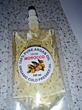 A SATCHELS  OF 100% PURE ARGAN OIL FROM MOROCCO-100 ML in SATCHELPOUCH-