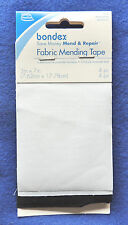 """4pc Simplicity Iron-On Fabric Mending Tape Patches (2ea Black & White) 3"""" x 7"""""""