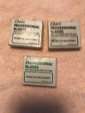 3 Oster Professional Replacement Hair Clipper Blades ( 2 #50 + #70 ) NOS