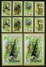 Vietnam 2014 Primaten Affen Monkeys Tiere Gezähnt und Ungezähnt Perf Imperf MNH