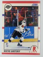 1990-91 Score Wayne Gretzky #1, Kings, HOF