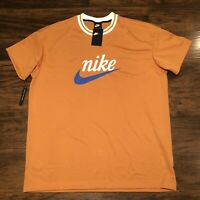 New Nike Sportswear Men's Mesh Graphic Top Active Wear BV2931-727 XXL