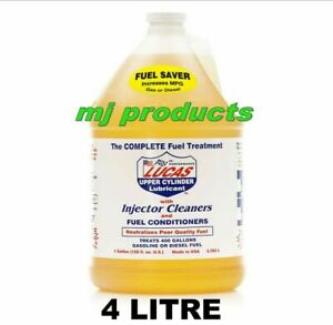lucas fuel treatment, injector cleaner/fuel conditioner/ cylinder lubricant 4...