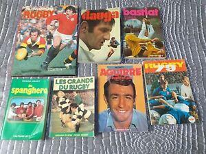 Rugby lot de 7 livres Anciens