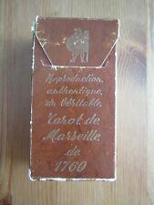 RARE Vintage Tarot de Marseille de Nicolas Conver OOP HTF