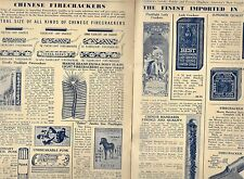 c.1920's Liberty Display Catalog Fireworks Franklin Park IL PP.3 to 22.Only