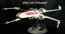 Hasbro Star Wars Xwing Laser cut acrylic display stand TVC Biggs POTF FX