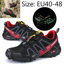 Running Trainers Outdoor Sports Hiking Shoes Men's Breathable Sports Sneakers UK