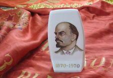 CCCP USSR RITRATTO PORCELLANA 100 ANNI NASCITA V. LENIN ORIGINALE URSS 1970