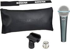Shure BETA 58A Supercardioid Dynamic Microphone w High Output Neodymium Element