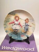 "Wedgwood Collectors Plate ""Playtime"", Boxed"