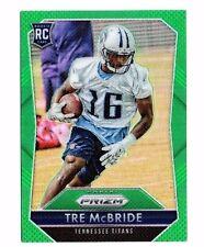 Tre McBride, (Rookie) 2015 Panini Prizm, Green Prizm, Football Card !!