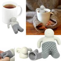 ORIGINAL BIG Mr Tea Infuser Diffuser Loose Leaf Tea Silicone Plastic BPA free