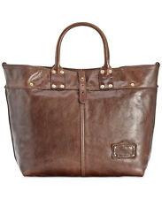 $740 Patricia Nash Women BROWN VINTAGE LEATHER PURSE SHOULDER BAG HANDBAG TOTE