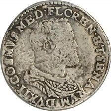 1536 - 1574 Italian States, Tuscany, Teston, PCGS VF Details, Cosimo I de Medici