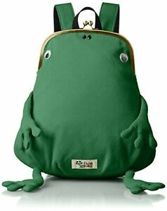 gym master Frog Frame Clutch Type Mini Backpack Green F/S w/Tracking# Japan New