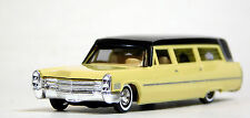 Busch 1/87 HO 1960 Cadillac Station Wagon Hearse Yellow SCALE REPLICA 42920