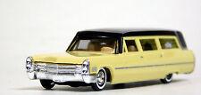 Busch 1/87 HO 1960 Cadillac Station Wagon Hearse Yellow SCALE REPLICA 42920