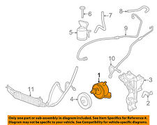 GM OEM-Power Steering Pump 20832683