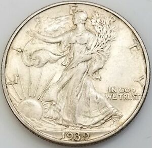 1939 D Walking Liberty Half Dollar!