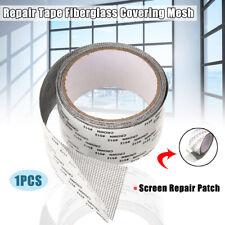 Screen Patch Repair Kit Window Repair Tape Fiberglass Covering Mesh Tool 5*200cm