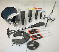 Hydraulic Cylinder Repair Tool Kit for skid steers, loaders, backhoes, etc.