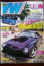 VW Magazine n°99 du 11-1997; Ultime Karmann Hi-Tech/ Kübel 1941