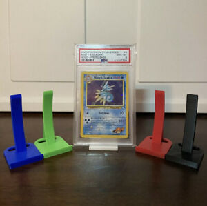 PSA Graded Card Holder Display Stand! Also Works With Non-Graded Cards!