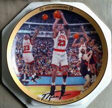 """Michael Jordan 90s Collectors Plate w/COA Upper Deck """"1992 Champions"""""""