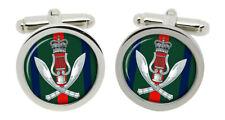 Gurkha Band, British Army Cufflinks in Box