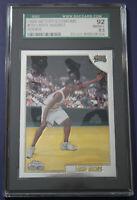 Larry Hughes RC Saint Louis 76ers 1998-99 Topps Chrome Rookie Card #151 SGC 92