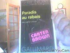 Paradis au rabais de Carter Brown