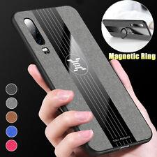 360° Car Magnetic Case Cover With Finger Ring Holder Buckle For Huawei Nova 5 5i