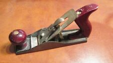 VINTAGE STANLEY WOOD PLANE DEFIANCE ALL ORIGINAL PARTS VERY NICE READY TO USE