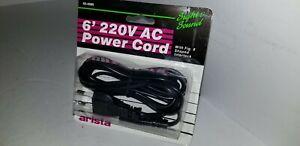 NEW Arista 25 Amp 220V Pal UK AC Power Cord Figure 8 double barrel   L8